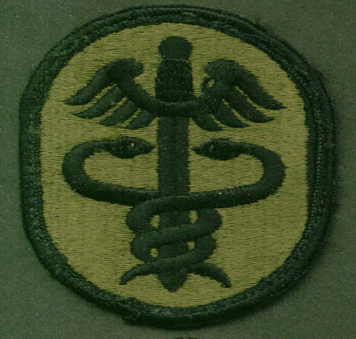 Image for US Army Medical Command SSI subdued patch