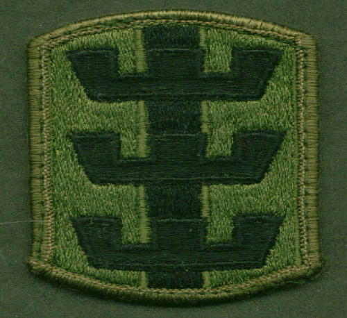 Image for US Army 130th Engineer Brigade SSI subdued patch