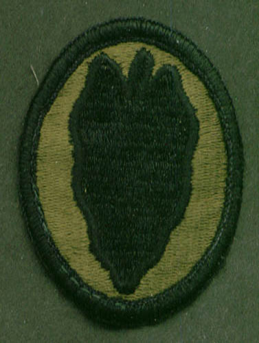 US Army 24th Infantry SSI subdued patch