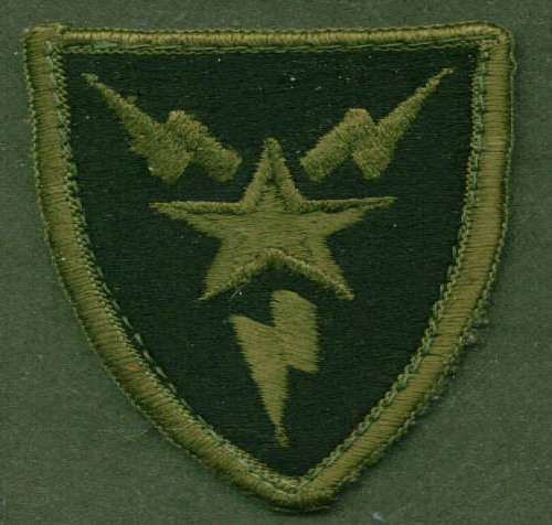 US Amry Third Signal Brigade SSI subdued patch