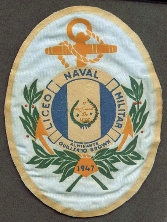 Liceo Naval Militar Argentina 1947 silkscreen SSI