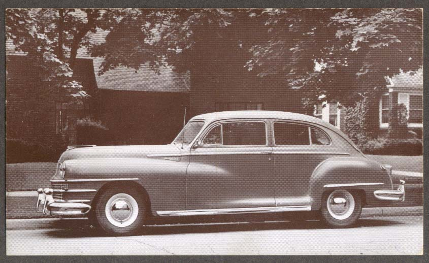 1946 Chrysler Royal 2-door Sedan postcard
