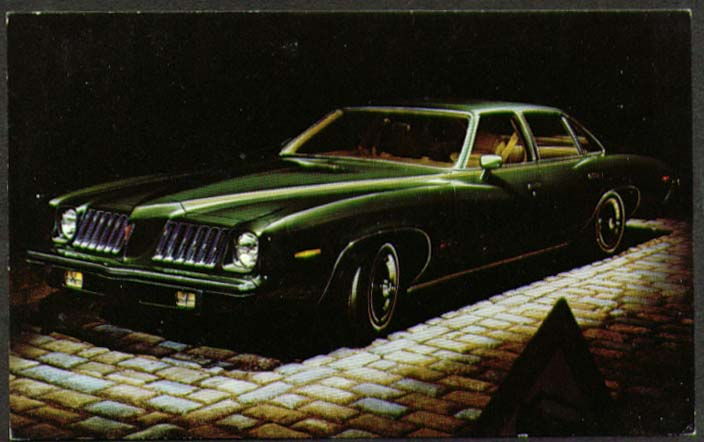 1974 Pontiac Grand Am 4-dr dealer postcard