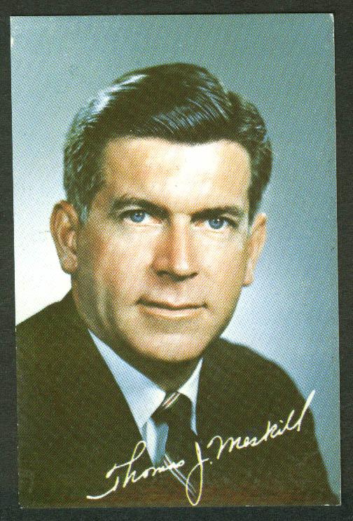 Thomas Meskill for Connecticut Governor pocket calendar 1971