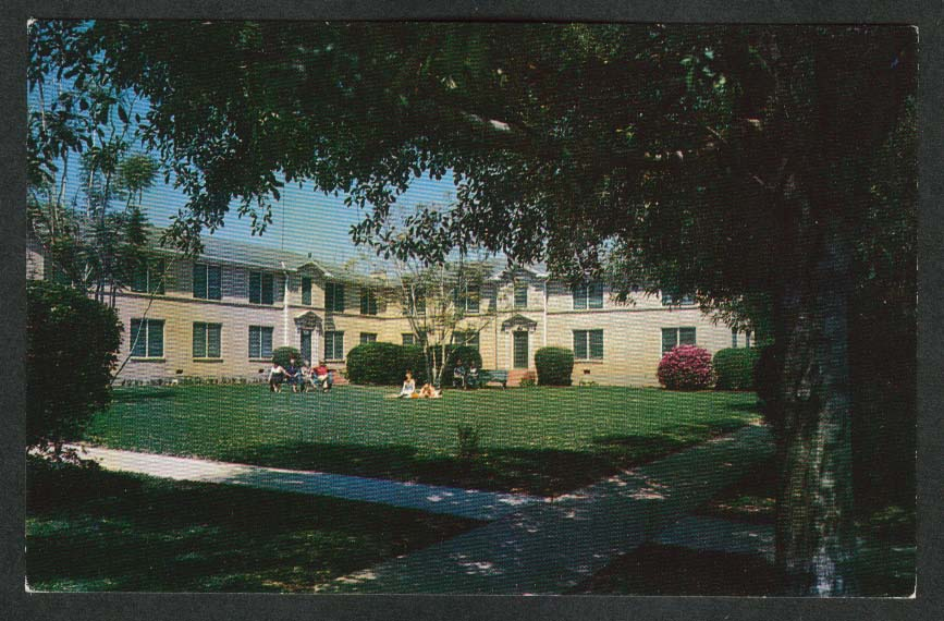 Bagdad Luxury Apartments Mercedes TX postcard 1950s