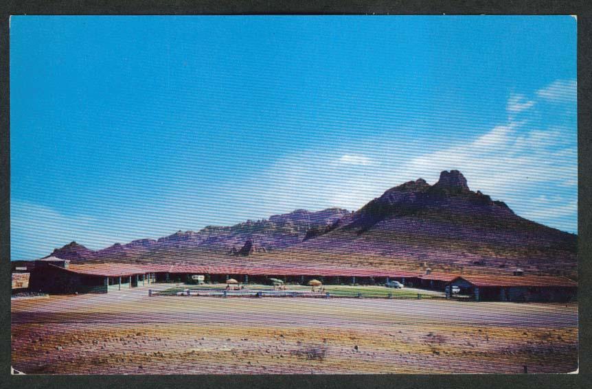 Motel Guaymas Inn Sonora Mexico postcard 1950s