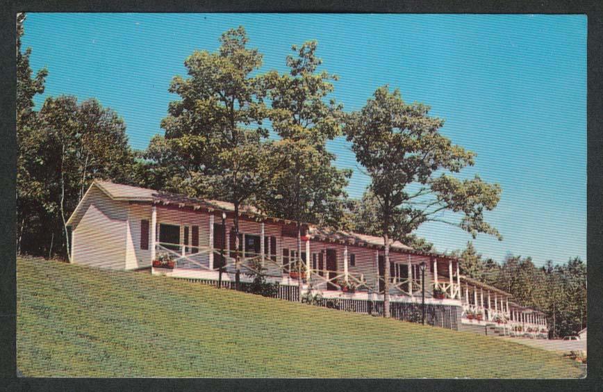 Mount Battie Motel Noel & Joel Oakes Lincolnville Beach ME postcard 1950s