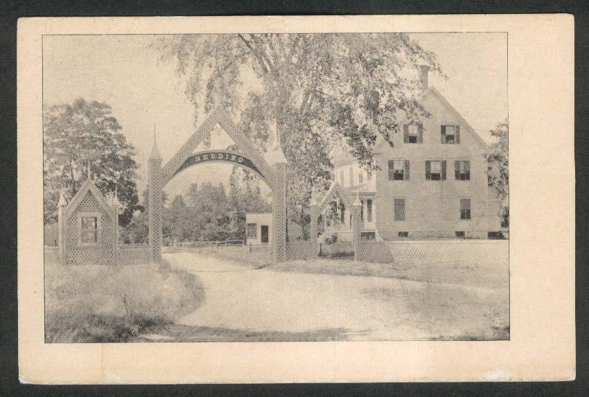 Hedding College Abington IL postcard 1920s