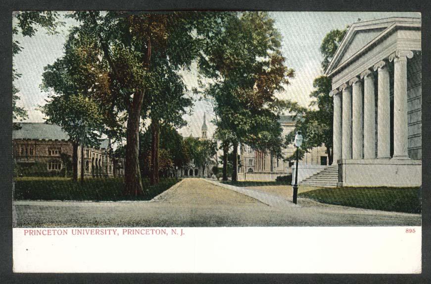 Princeton University Princeton NJ undivided back postcard 1910s