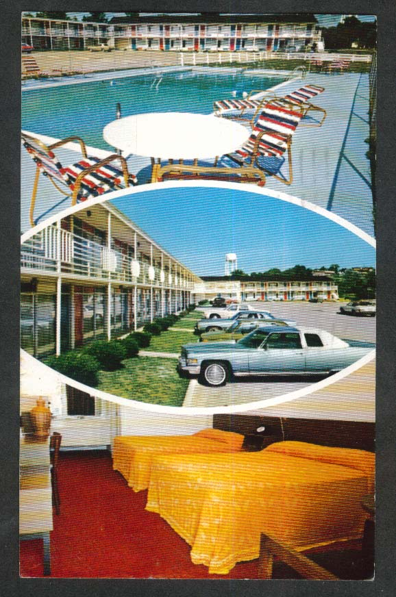 Prince Royal Motel Berea KY postcard 1979
