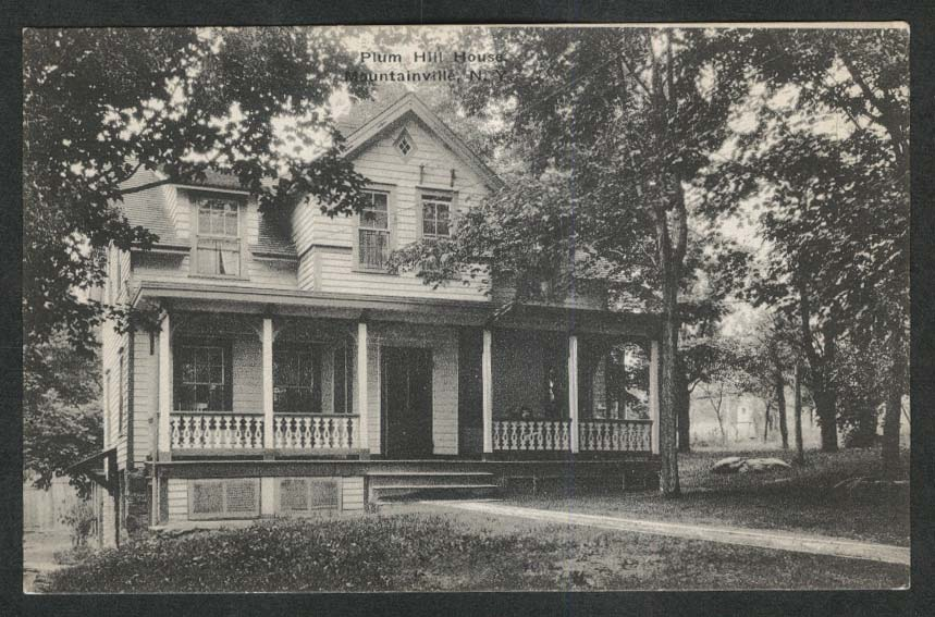 Plum Hill House Mountainville NY postcard 1910s