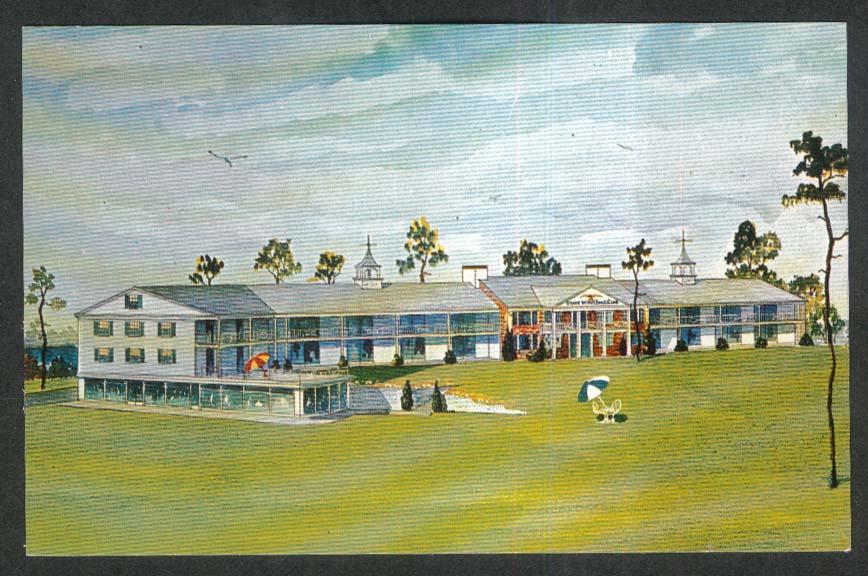 Trade-Winds Inn & Club Craigville Cape Cod MA postcard 1960s