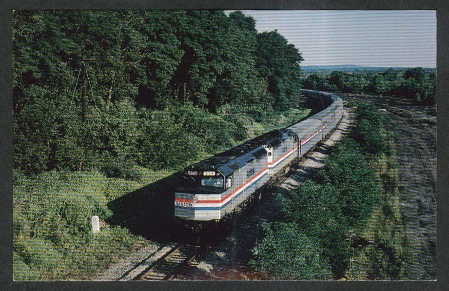 Amtrak 339 Lake Shore Limited postcard 1970s