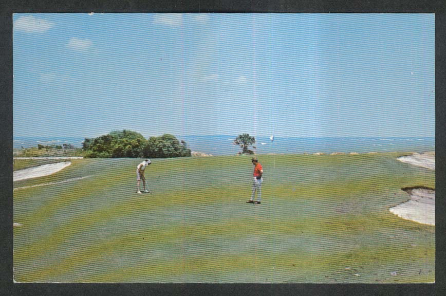 Port Royal Plantation Golf Club Hilton Head Island SC postcard 1972