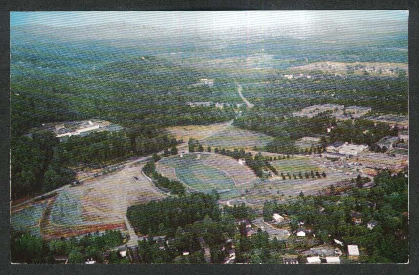Scott Stadium University of Virginia Charlottesville VA postcard 1950s