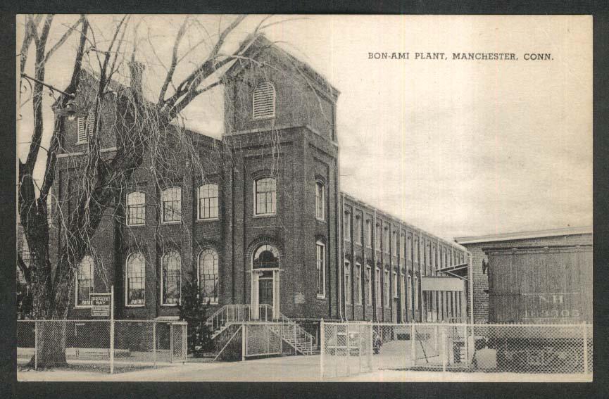 Bon-Ami Plant Manchester CT postcard 1930s