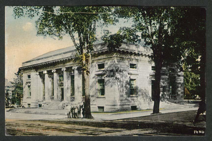 Post Office New Britain CT postcard 1910s