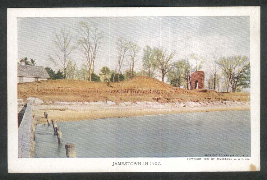 Jamestown Exposition 1907 postcard View of Landing Place