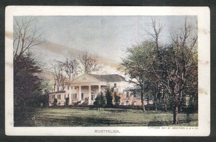Jamestown Exposition 1907 postcard Montpelier