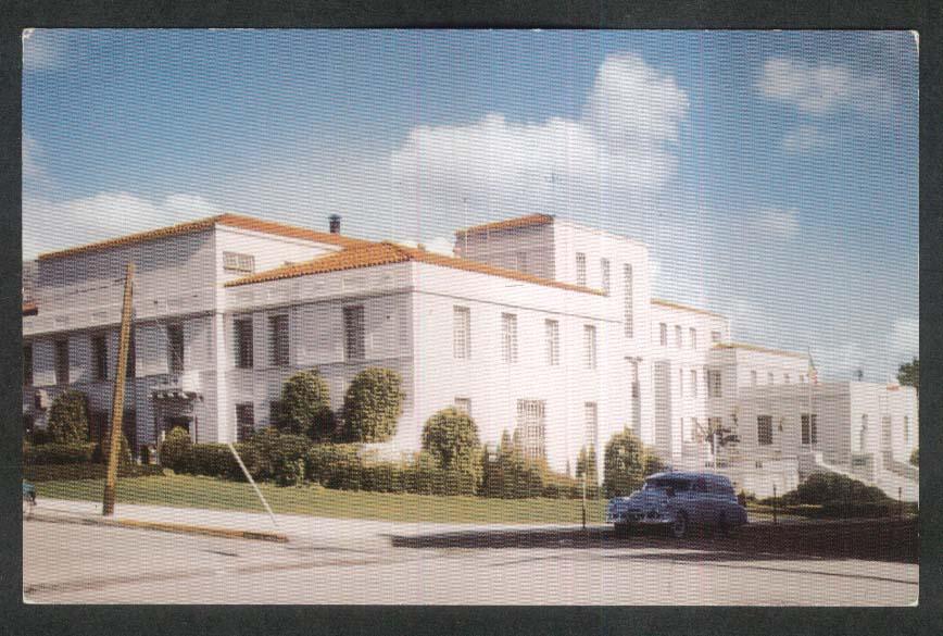 County Court House San Luis Obispo CA postcard 1950s