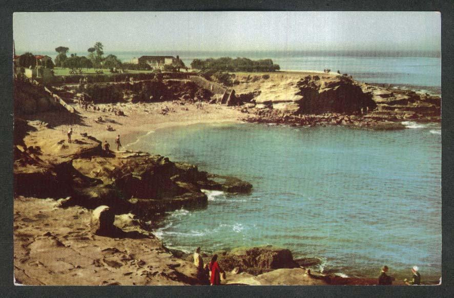 La Jolla CA Union Oil Company postcard 1950s