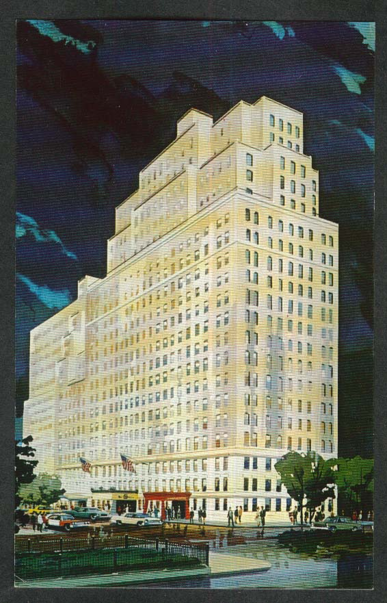 The Drake 440 Park Avenue New York City NY postcard 1960s
