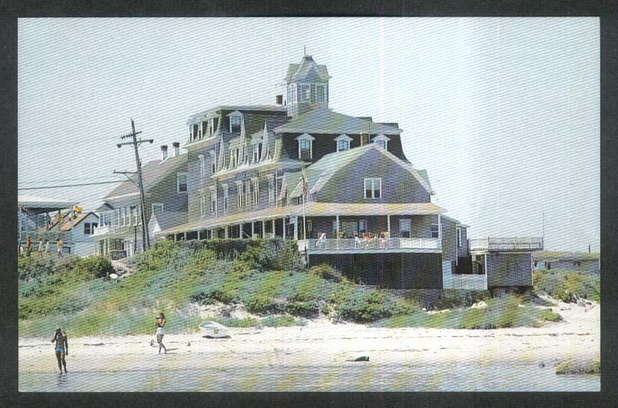 Surf Hotel Block Island RI postcard 1970s