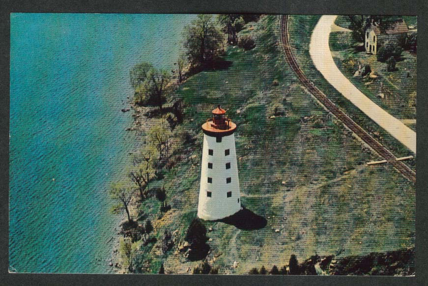 Fort Wellington National Historic Park Prescott Ontario Canada postcard 1950s