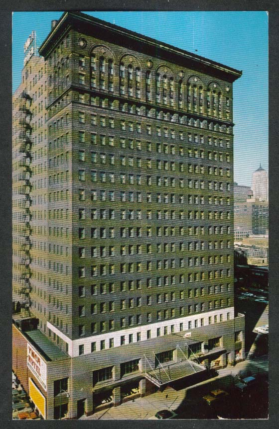 Chicago YMCA Hotel 826 South Wabash Avenue IL postcard 1950s