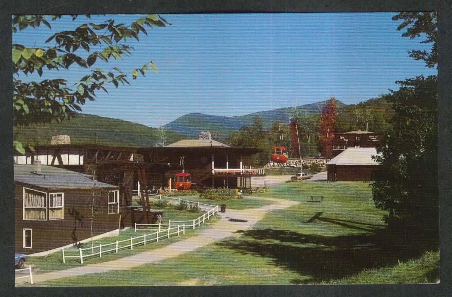 Loon Mountain Recreation Area Kancamagus Lincoln NH postcard 1970s
