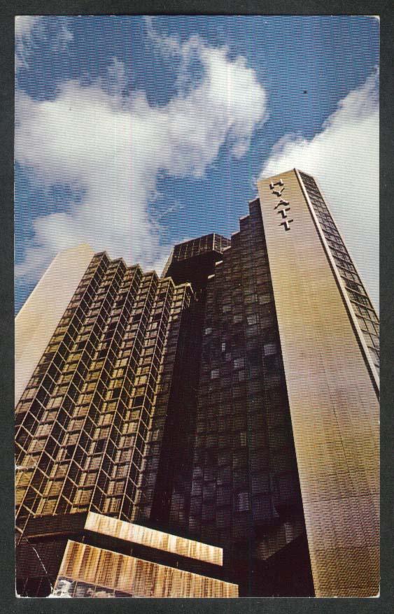 Hotel Regence Hyatt Montreal Quebec Canada postcard 1970s