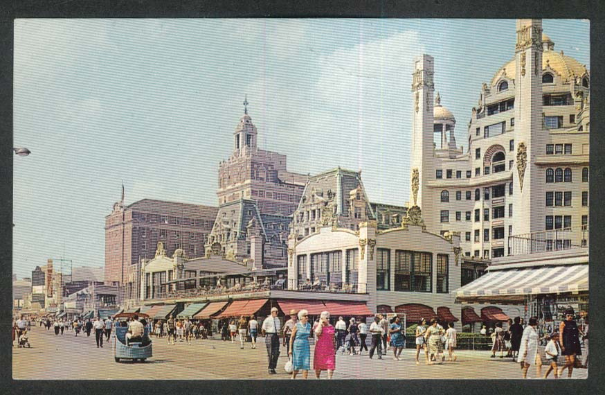 The Fabulous Boardwalk Atlantic City NJ postcard 1960s