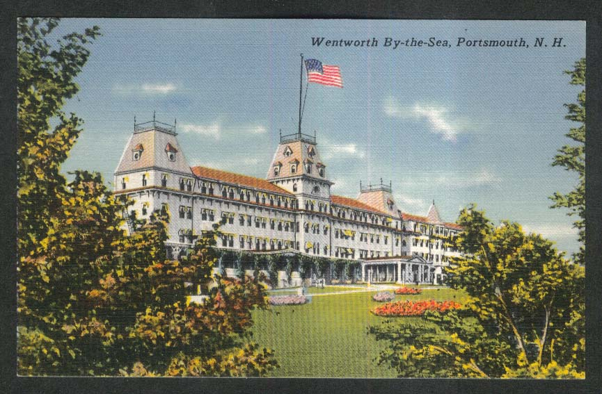 Wentworth By-the-Sea Portsmouth NH postcard 1930s