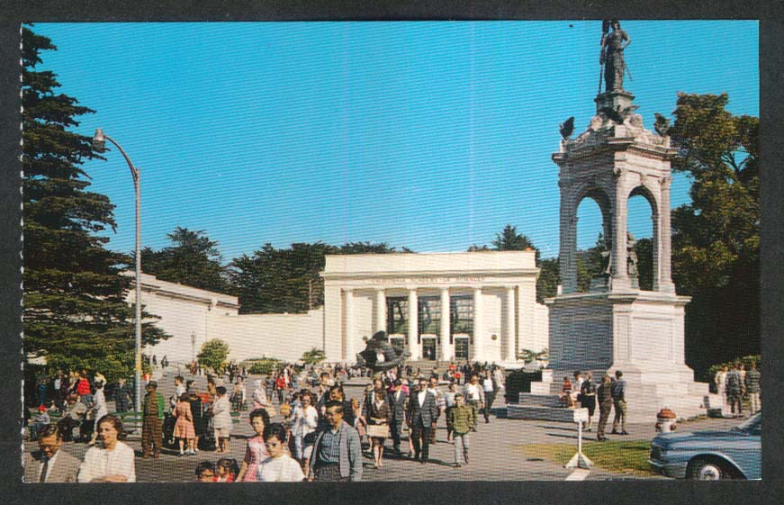 Golden Gate Park San Francisco CA postcard 1960s