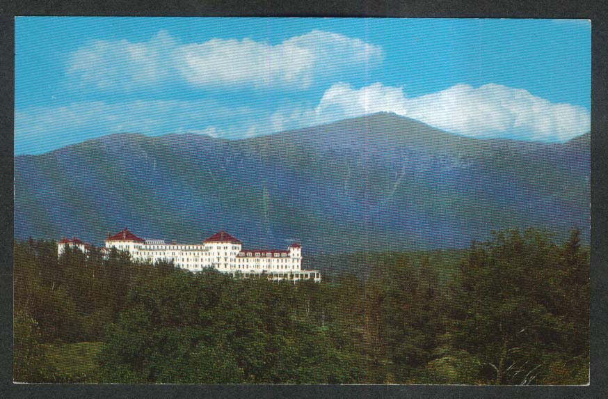 Mount Washington Hotel Bretton Woods White Mountains NH postcard 1960s