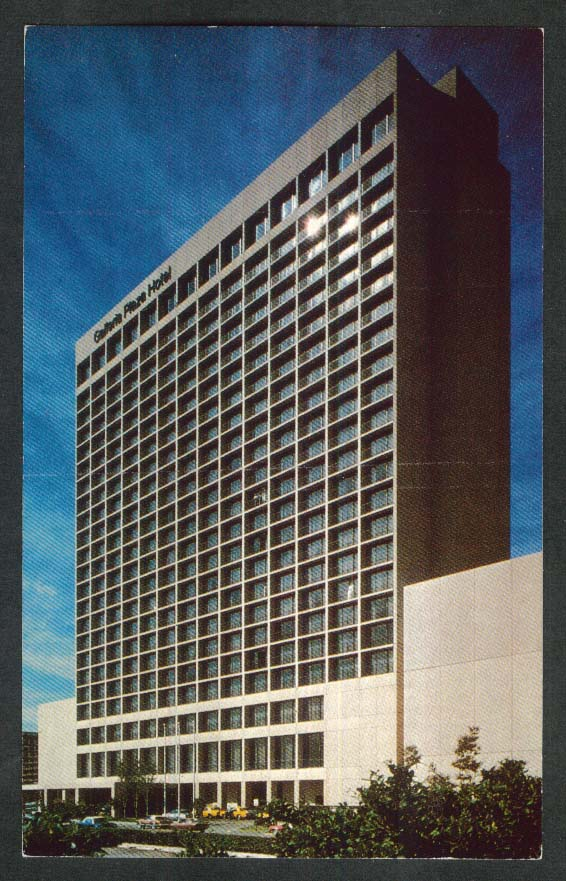 Galleria Plaza 5060 W Alabama Houston TX postcard 1970s