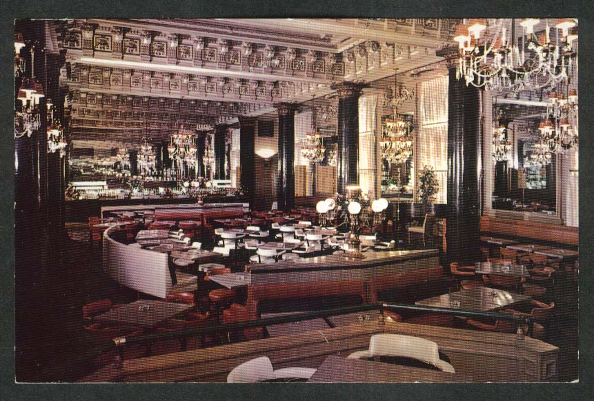 The Willard Hotel 14th & Pennsylvania Ave Washington DC postcard 1950s