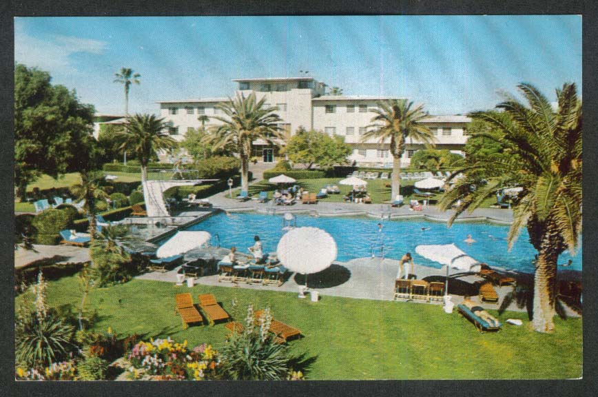 The Flamingo Hotel-Resort Las Vegas NV postcard 1960s