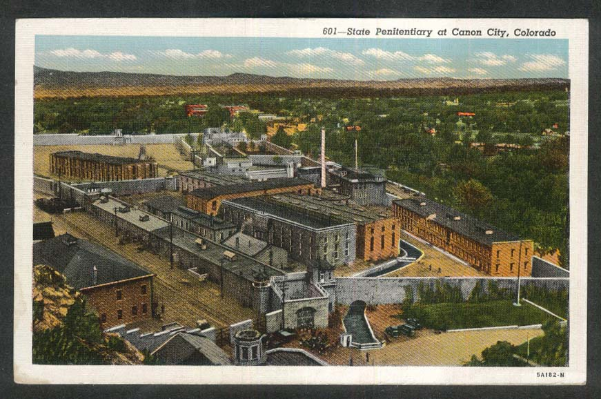 State Penitentiary at Canon City CO postcard 1930s