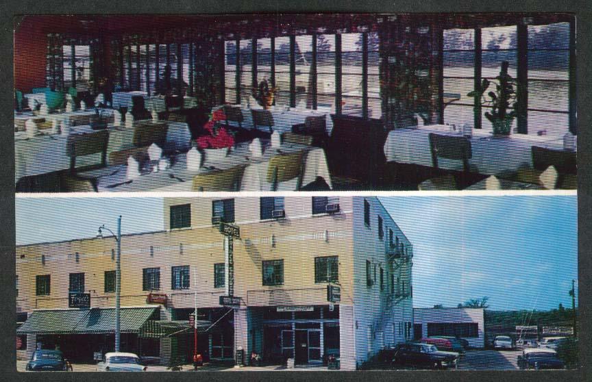 Fogel's Hotel Prince George Georgetown SC postcard 1950s