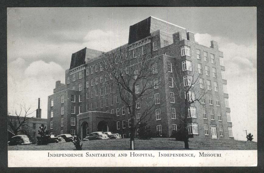Independence Sanitarium & Hospital MO undivided back postcard 1900s