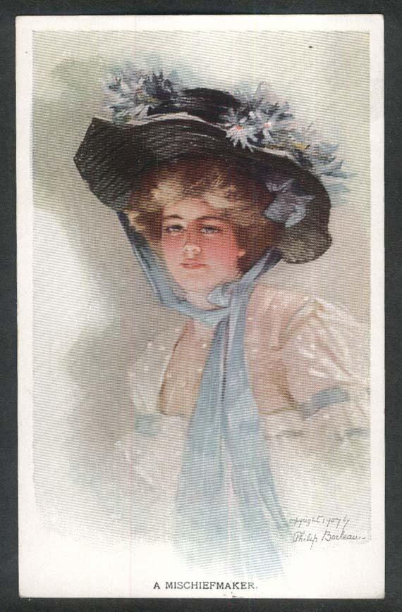 A Mischiefmaker Philip Boileau postcard 1907