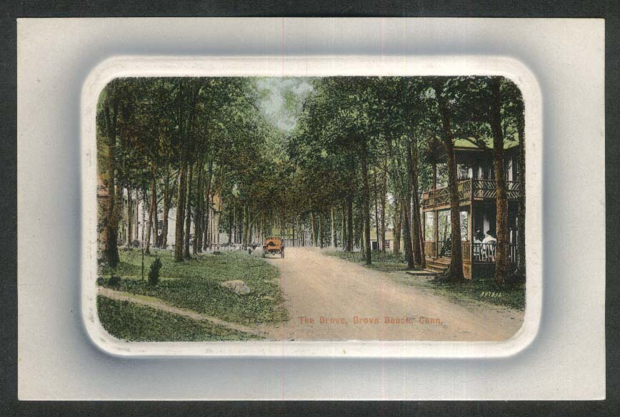 The Grove Grove Beach CT postcard 1910s