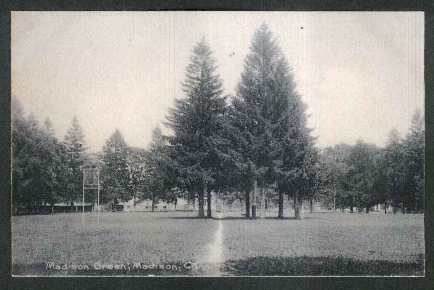 Madison Green Madison CT undivided back postcard 1900s