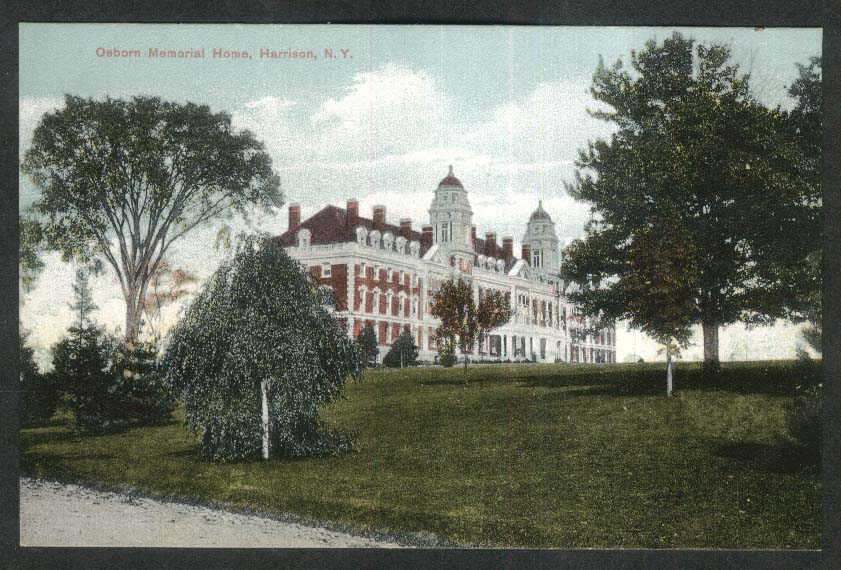 Osborn Memorial Home Harrison NY postcard 1920s