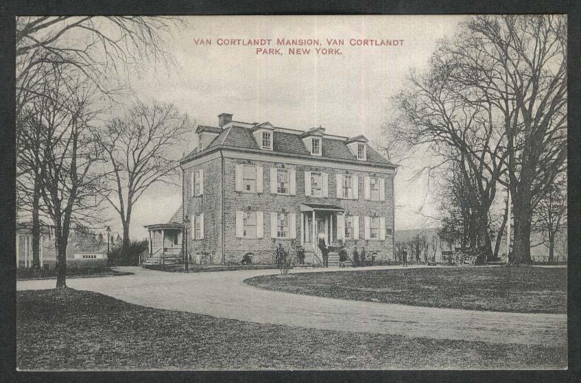 Van Cortlandt Park Mansion NY postcard 1920s