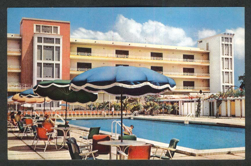 Circle of the Armed Forces Hotel Caracas Venezuela postcard 1960s