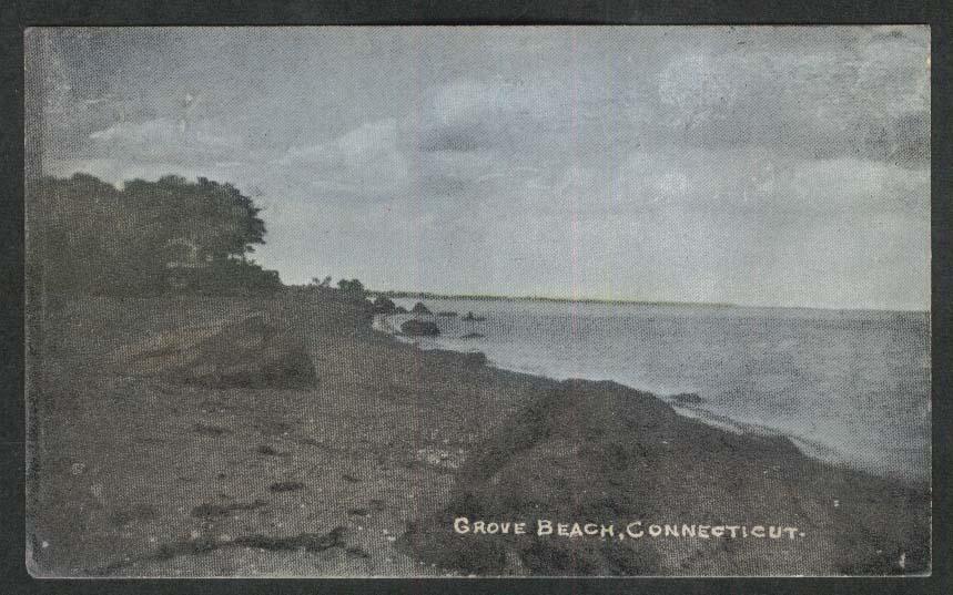 Grove Beach CT postcard 1911