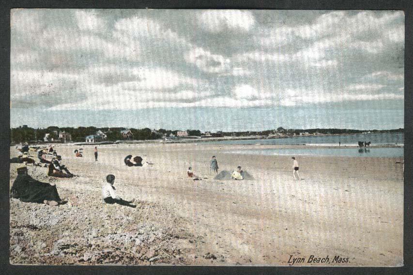 Lynn Beach MA undivided back postcard 1907