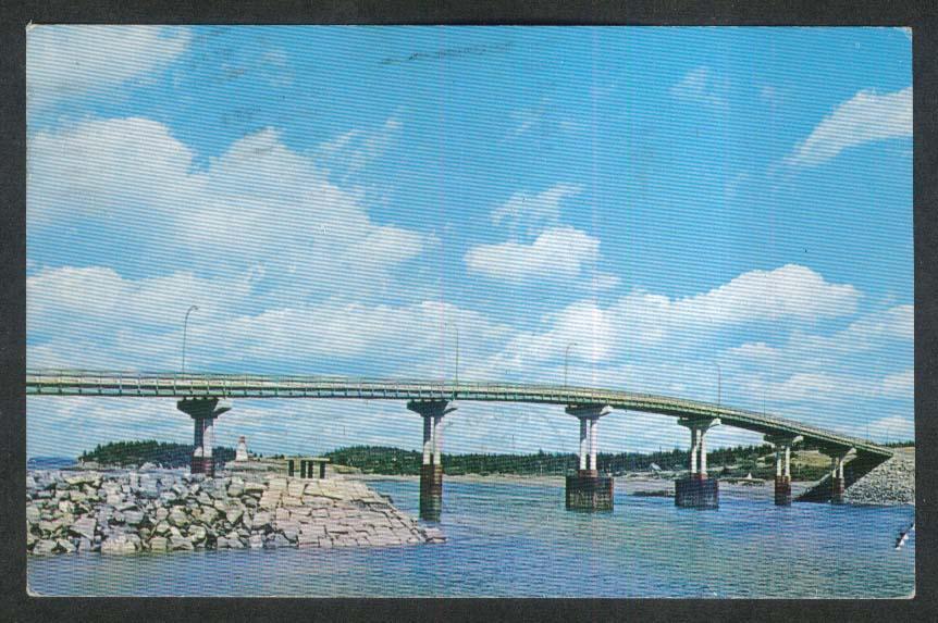 Campobello Island New Brunswick Canada postcard 1967